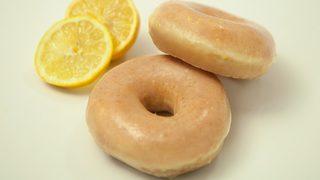Lemon-glazed Krispy Kreme doughnuts available for one week only