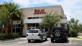 The Bolay on State Road 7 in Royal Palm Beach. A customer thought she was being followed by a man in what appears to have been a series of coincidences.