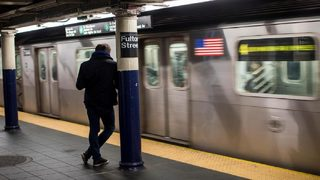 NYC subway seat fight ends with dog biting woman