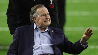 George H.W. Bush recovering after infection, moved out of intensive care