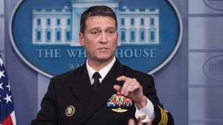 Trump VA nominee Ronny Jackson withdraws name from consideration