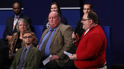 Ken Bone asks a question during the town hall debate at Washington University on Oct. 9, 2016 in St Louis, Missouri. It was the second of three presidential debates leading up to the November 8th election. (Photo by Chip Somodevilla/Getty Images)