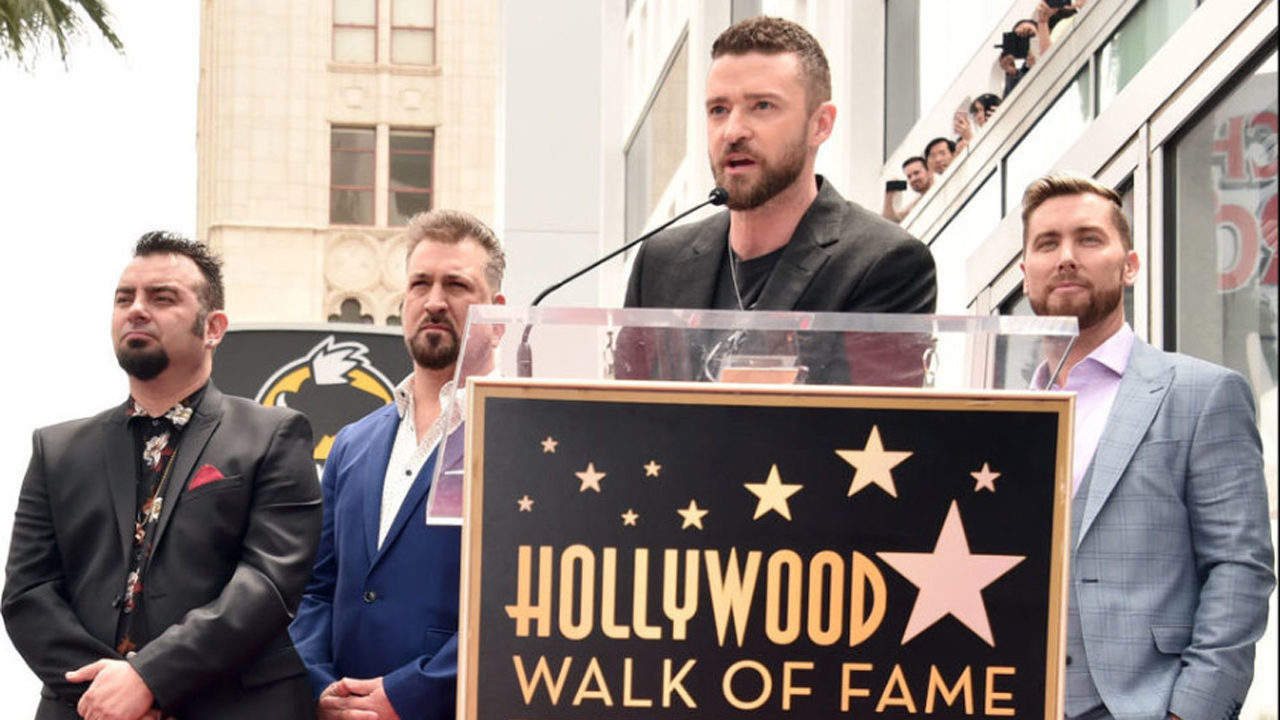 Image result for nsync walk of fame