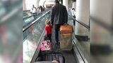 Stranger's Act of Kindness for Mom at Airport Goes Viral