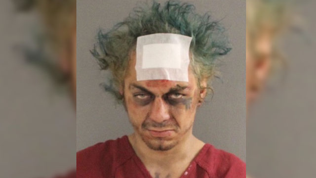 Tennessee man claiming he is 'Captain Jack Sparrow' arrested after huffing glue, banging head on sidewalk