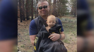 Dad sentenced after missing baby found naked, injured with meth in system