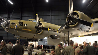 WWII bomber Memphis Belle draws thousands at Air Force museum