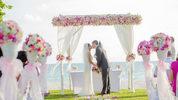 Wedding on the beach.
