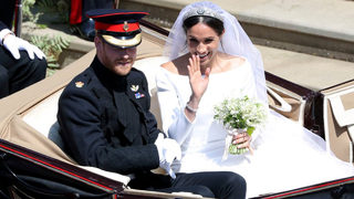 Royal family releases official wedding photos of Meghan Markle and Prince Harry