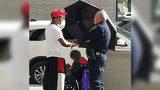 Texas Man Shades Woman With Umbrella, Goes Viral