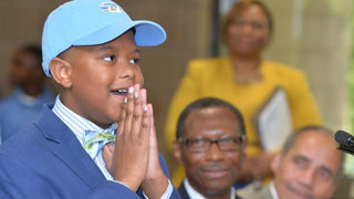 11-year-old given full-ride scholarship to Southern University