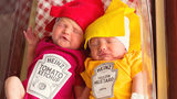 Twins born Memorial Day weekend celebrate