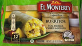 El Monterey Frozen Burritos Recalled After Complaints Of Plastic In Food