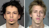 Jaiden Caruso, 16, from left, and Kody Harlan, 17, are charged as adults in the shooting death of Matthew Minkler. Minkler, 17, was killed the afternoon of June 8, 2018, in an abandoned house in Henderson, Nevada.