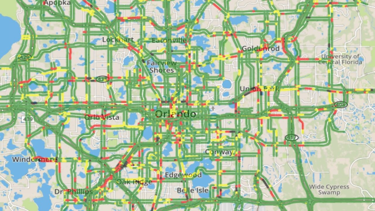 How to find Orlando traffic maps | WFTV Orlando Traffic Map on