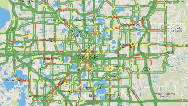 Orlando Traffic Map How to find Orlando traffic maps | WFTV