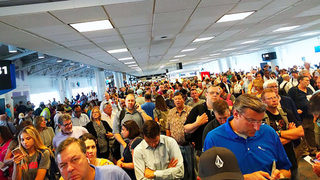 More technical issues cause flight delays into Charlotte airport