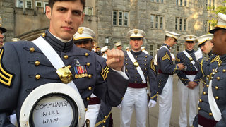 Army accepts resignation of West Point grad who wrote'Communism will win