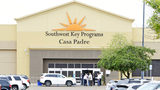Dignitaries take a tour of Southwest Key Programs Casa Padre, a U.S. immigration facility in Brownsville, Texas, Monday, June 18, 2018, where children are detained.