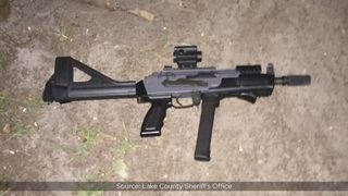 Florida deputy returns fire after man with assault-style rifle starts shooting during home invasion