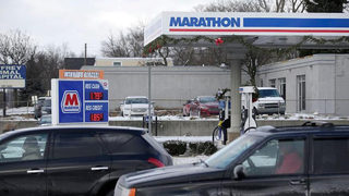Watch: Car skids, flips and lands between fuel pumps at Mississippi station