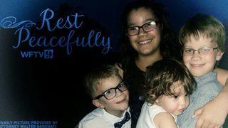 4 children killed in violent police standoff laid to rest in Florida
