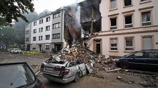 German explosion: 25 hurt, 4 seriously, in Wuppertal blast