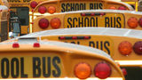 School buses. File photo. (Photo: AtelierKS/Pixabay/Creative Commons: https://pixabay.com/en/service/terms/#usage)