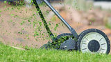 A 12-year-old boy who runs his own lawn cutting business in Maple Heights, Ohio, said business is booming after a neighbor called police on him for cutting grass, in a Facebook video that has gone viral.