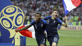 France cruises past Croatia 4-2 to win World Cup