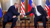 President Donald Trump And Vladimir Putin Meet In Helsinki