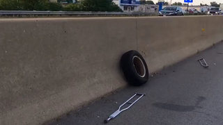 Tire comes off van on Ohio interstate, crashes into windshield of car, killing driver