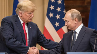 Trump morphs into Putin on latest Time cover