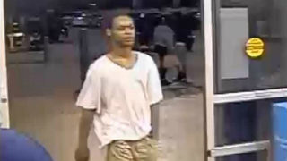 Police search for man accused of sucker-punching a customer at Walmart