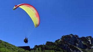 Quadriplegic paraglider raising awareness for 'disability-friendly