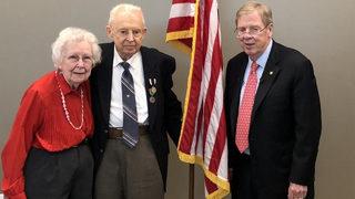 World War II veteran awarded Prisoner of War medal after 73 years