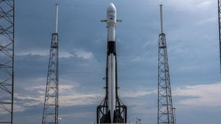 SpaceX Falcon 9 rocket launches at Cape Canaveral