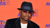 Bobby Brown and his wife, Alicia Etheredge-Brown, will receive a proclamation in acknowledgement of plans to build the Bobbi Kristina Serenity House domestic violence shelter in Atlanta. (Photo by Earl Gibson III/Getty Images)