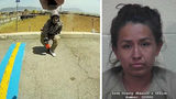 Ivonne Casimiro, 29, of Las Vegas, is seen wincing moments after being shot in the knee by Enoch, Utah, police Cpl. Jeremy Dunn on June 28, 2018, at a truck stop in Parowan, Utah. Photo: Enoch Police Department/Iron County Sheriff's Office