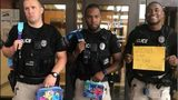 Members of the Harrodsburg Police Department are serious about the first day of school.