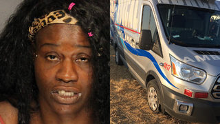 Woman accused of stealing ambulance, leading officers on high-speed chase