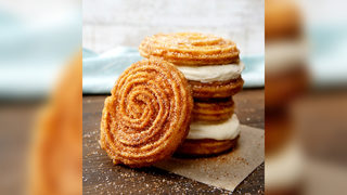Cinnabon, Carvel team up for churro ice cream sandwich