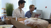Tony Shu and Connor Schoen are opening a coffee shop in Cambridge, Massachusetts, that will employ homeless teens.
