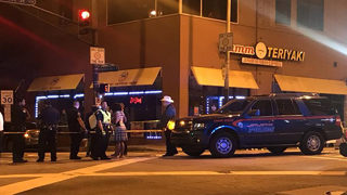 Group on scooters confronts, shoots man