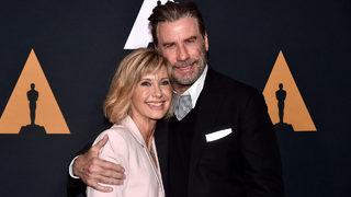 Danny, Sandy back together again as John Travolta, Olivia Newton-John reunite