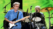 Guitar legend Eric Clapton's first full-length Christmas album will be released Oct. 12.