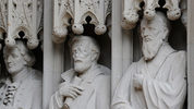 A statue of Confederate Gen. Robert E. Lee will not be returned to the entrance of the Duke University chapel.