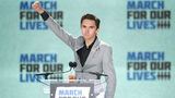 WASHINGTON, DC - MARCH 24: Marjory Stoneman Douglas High School Student David Hogg addresses the March for Our Lives rally on March 24, 2018 in Washington, DC. Hundreds of thousands of demonstrators, including students, teachers and parents gathered
