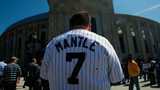 MIckey Mantle remains a favorite among baseball fans, and a road jersey worn by the Hall of Famer in 1964 sold for a record amount Saturday.