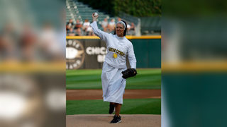 Nun wows crowd with